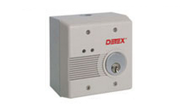 Detex EAX-2500S AC/DC External Powered Wall Mount Exit Alarm - Surface Mount