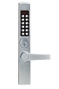 Kaba Eplex E3065BNL626-41 Narrow Stile Lever Trim For Mortise Dead Latch