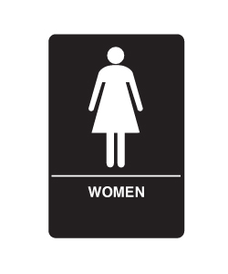 Don-Jo HS-9070-04 A.D.A. Signs - Women's Room