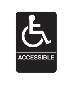 Don-Jo HS-9070-06 A.D.A. Signs - Handicap Accessible