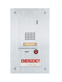 Aiphone IS-SS-2RA Audio Door Station W/ STD. & Emergency Call Buttons