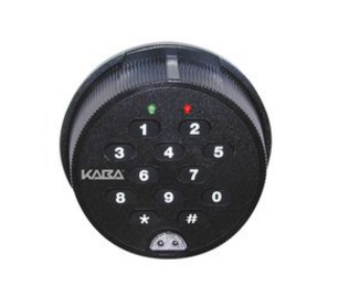 Kaba Mass 252S-RN-10N-5-B-E-A-1-A Self Powered Safe Lock, Round Housing, Dead Bolt, Non-Sensor