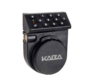 Kaba Mass 252S-VN-10N-5-B-E-A-1-A Self Powered Safe Lock, Vertical Housing, Dead Bolt,Non-Sensor