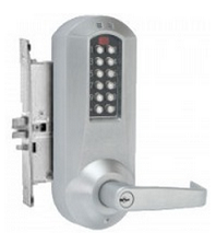 Kaba Eplex E5266XSWL626-41, Electronic Keypad Mortise lock - Satin Chrome