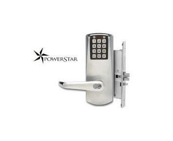 Kaba Eplex P2066-B-LL-626-41 PowerStar Electronic Mortise Lock Satin Chrome