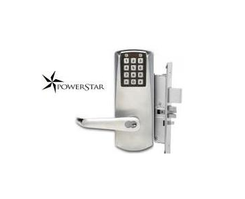 Kaba Eplex P2067-B-LL-626-41 PowerStar Electronic Mortise Lock Satin Chrome