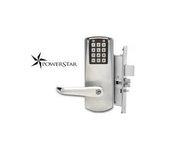 Kaba Eplex P2067-XS-LL-626-41 PowerStar Electronic Mortise Lock Satin Chrome