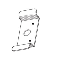 S.Parker PC510 Door Pull For Panic Device
