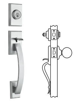Kwikset Tavaris Handlesets - Single Cylinder