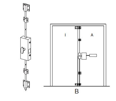 Detex Ecl 230d Alarm Panic Exit Control Lock