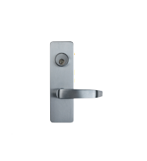Detex 08DS RHR/LHR 626 Wide Stile Lever Trim Entry Satin Chrome